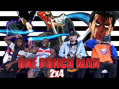 "One Punch Man Season 2 Episode 4 ""The Metal Bat"" REACTION/REVIEW"