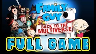 Family Guy: Back to the Multiverse Walkthrough FULL GAME Longplay (PS3, X360, PC)