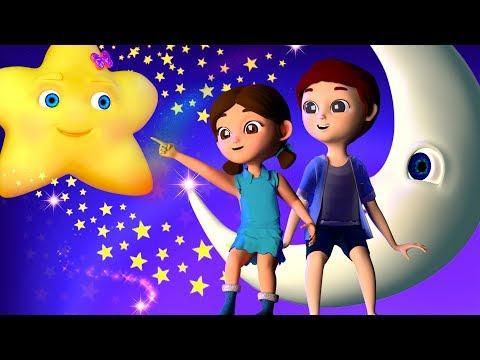 Twinkle Twinkle Little Star   Nursery Rhymes For Kids by Banana Cartoon [4K]