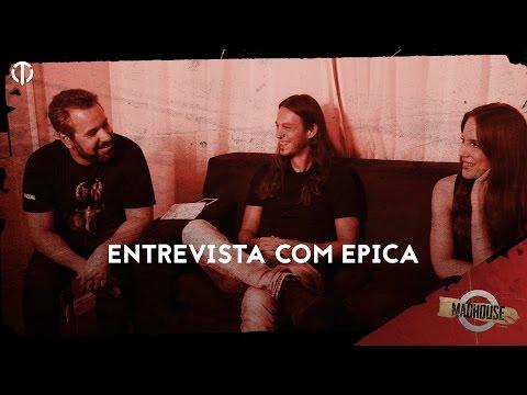 MADHOUSE ESPECIAL | Entrevista com Simone Simons e Mark Jansen do Epica