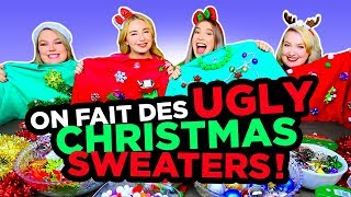 UGLY CHRISTMAS SWEATER CHALLENGE! AVEC 2FILLESORDINAIRES | 2e peau