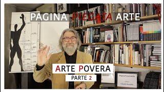 ARTE POVERA (seconda parte) -- quindicesimo incontro