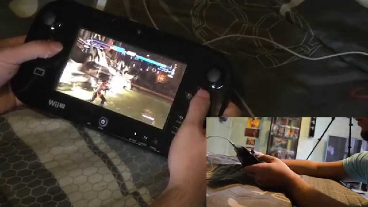 Test Wii U Gamepad Avec Tekken Tag Tournament 2 Wii U Test