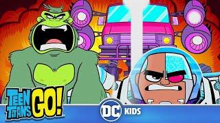 Teen Titans Go! en Français | La Poursuite En Voiture Du HIVE