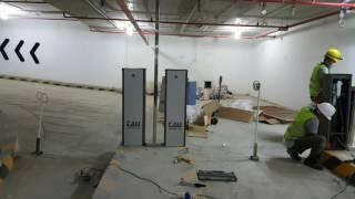 Hệ thống giữ xe thông minh Greenparking - Saigon Center