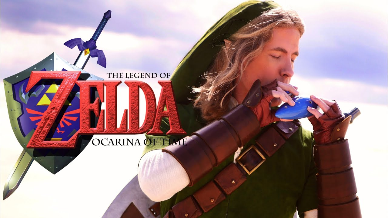 EPIC - The Legend of Zelda: Ocarina of Time Medley on REAL Ocarina!