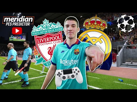 LIVERPOOL vs REAL MADRID | Meridian PES Predictor #50 |  @Beki 
