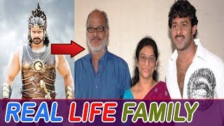 Bahubali 2 movie star cast with their families: Prabhas, & others' pictures real life family