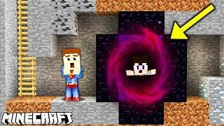 Minecraft 2D - PORWAŁ GO PORTAL DO INNEGO ŚWIATA!!! #4