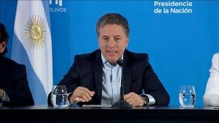 Conferencia completa de Nicolás Dujovne, Carolina Stanley y Dante Sica - Medidas contra la inflación