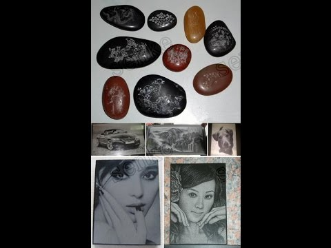 Gemstone all kinds of stone non metal engraving laser machine