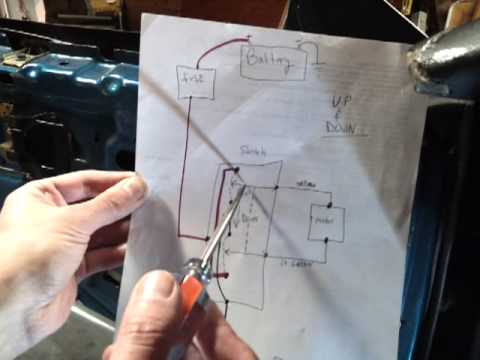 hq holden wiring diagram ceiling fan with red wire car power mirrors - how to troubleshoot easy diy youtube
