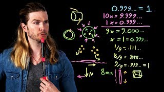 Infinity Math: 0.999...=1 | Because Science Live