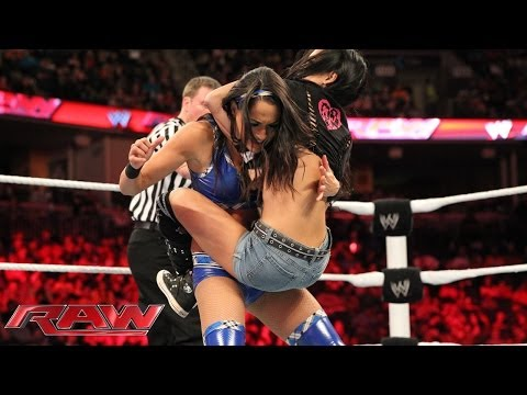 The Bella Twins vs. AJ Lee & Tamina: Raw, March 10, 2014 thumbnail