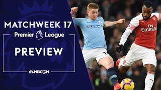 Premier League Preview: Arsenal, Manchester City set for goal-fest | NBC Sports Video