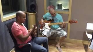 Anderson em estúdio