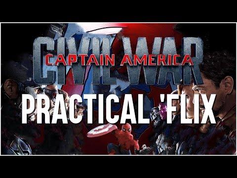 CAPTAIN AMERICA: CIVIL WAR - Practical 'Flix