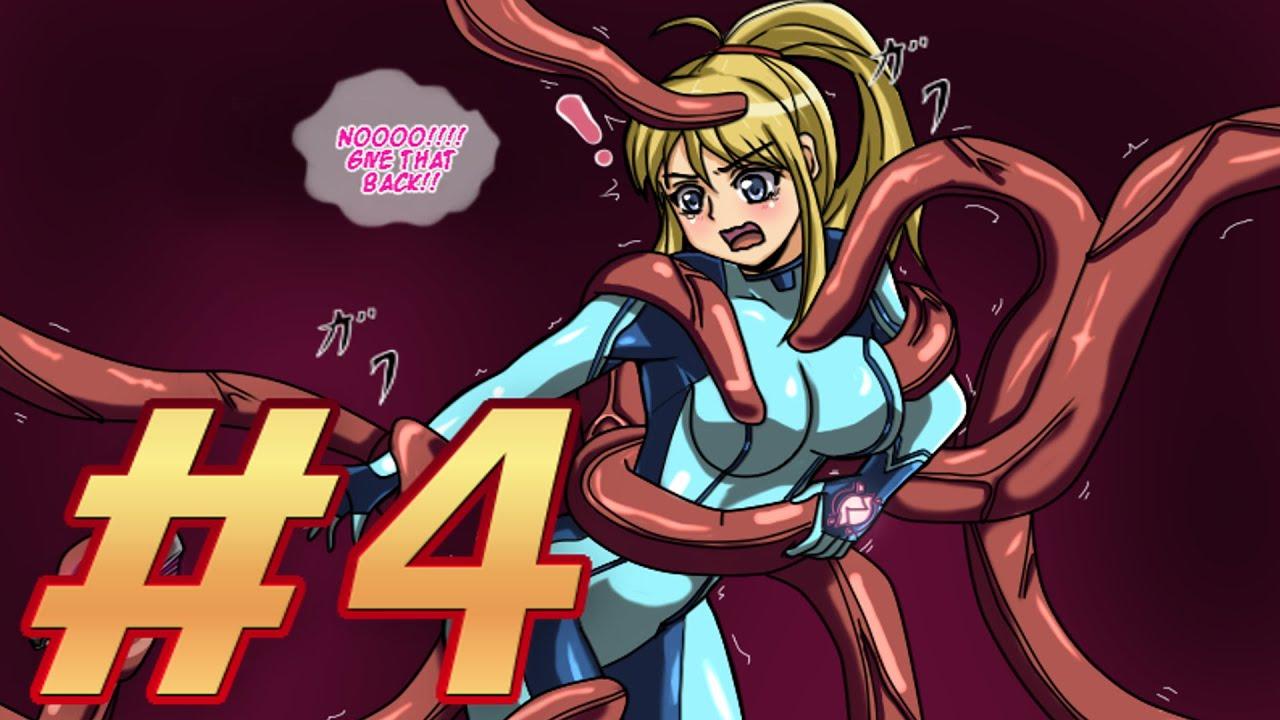 zero suit samus tentacle Metroid aran