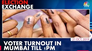 Voter turnout stands at 22.79% till 1 pm in Maharastra | ELECTION EXCHANGE
