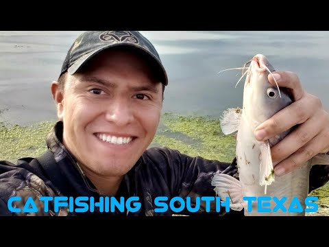 Catfish Fishing In Texas | South Texas BLUE CATFISH | Choke Canyon Lake