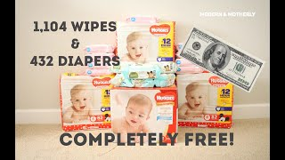 100 Dollars Worth Of Diapers Wipes Completely Free Amazon Baby Bucks Get 100 FREE