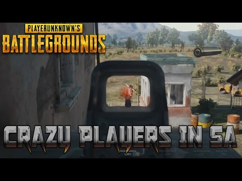 SA Servers Are Intense!! | PlayerUnknown's Battleground's With Boundy!
