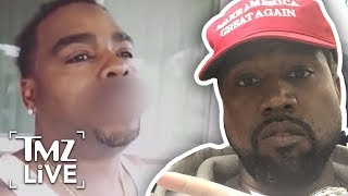 Kanye West Targeted By The Crips | TMZ Live