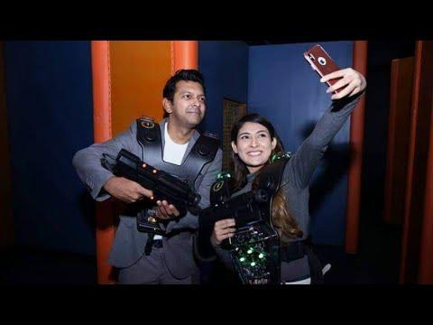 Tahsan & Mehazabien   First Visitors At Ultimate Fun Factory, Bashundhara City   13 Nov 2018