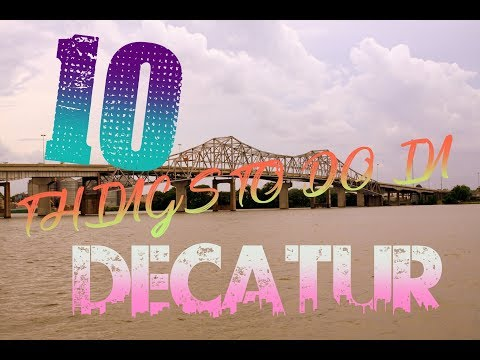 Top 10 Things To Do In Decatur, Alabama