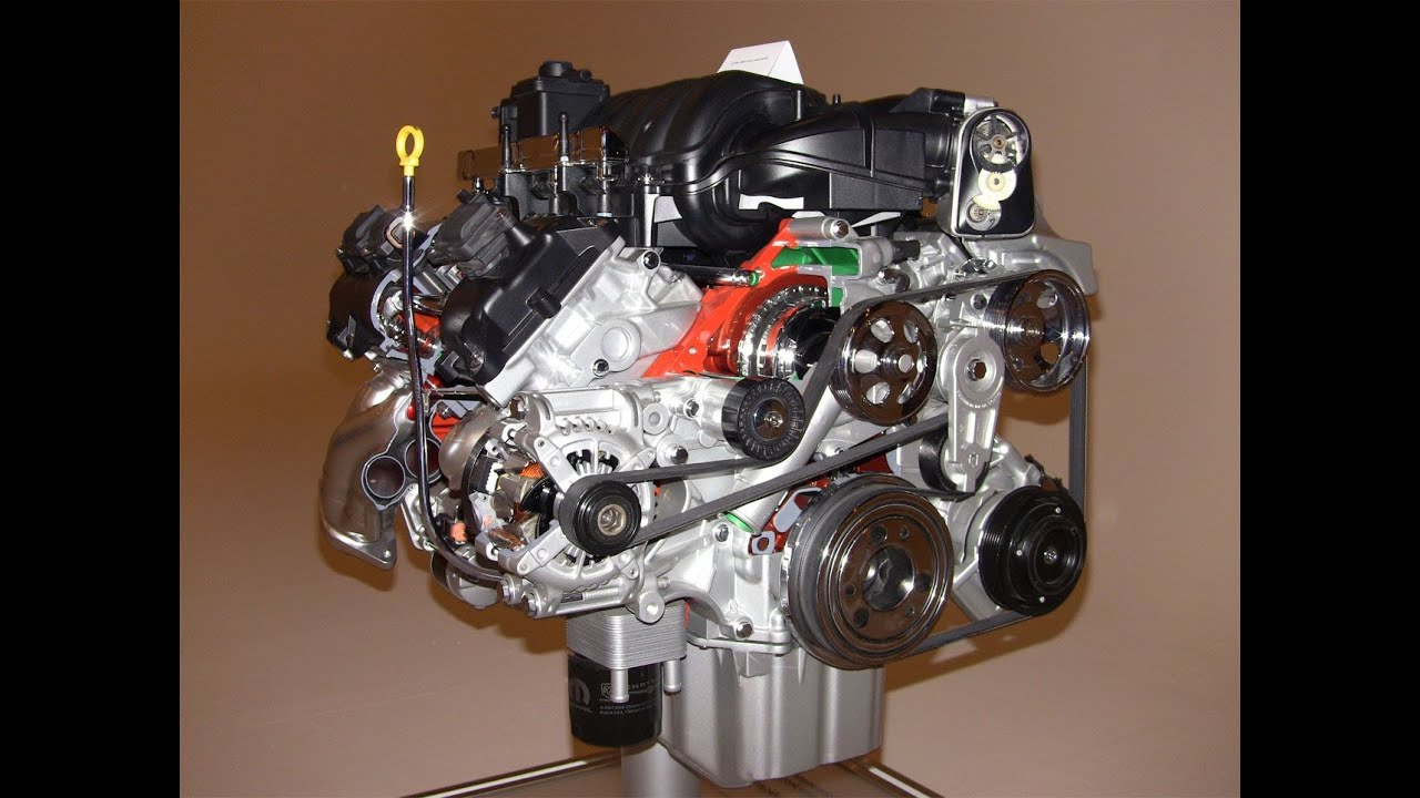 Technology Revew  The 2012 6   4      Liter    HEMI SRT V8    engine    exposed  YouTube