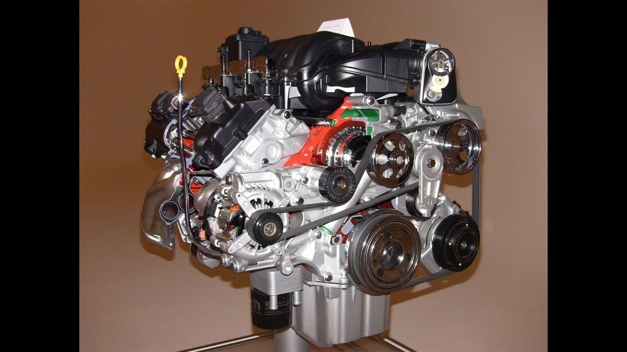 Technology Revew: The 2012 64Liter HEMI SRT V8 engine exposed  YouTube