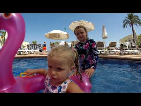 Ibiza 2018 Sirenis Seaview Country Club Video