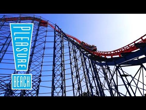 Blackpool Pleasure Beach Vlog July 2019