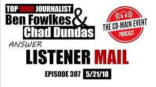 CME Podcast - Listener mail - Episode 307 (5/21/18)