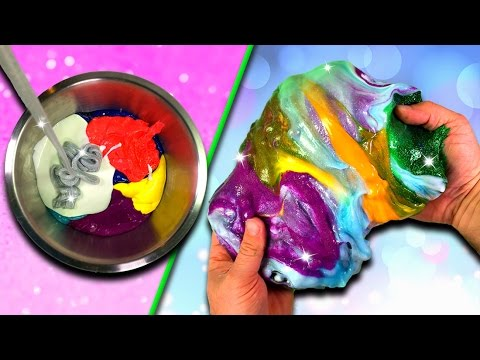 how to make floam slime without liquid starch