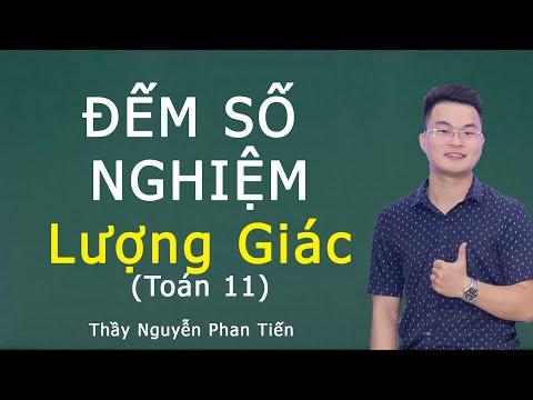 Đếm Số Nghiệm Lượng Giác Trên Khoảng, Đoạn (Toán 11) | Thầy Nguyễn Phan Tiến