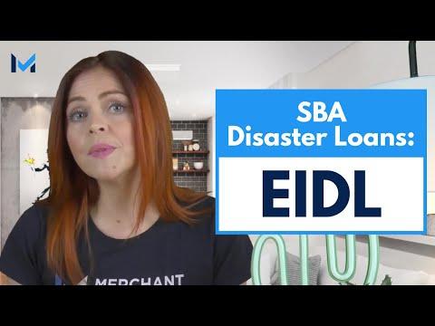 SBA Economic Injury Disaster Loan (EIDL) Program: COVID-19
