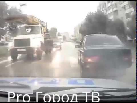 Погоня ДПС за нарушителем в Йошкар-Оле