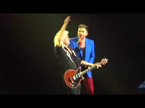 Queen & Adam Lambert - Somebody To Love @ Mohegan Sun Arena Uncasville 07/23