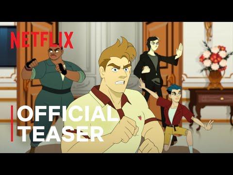 Q-FORCE   Official Teaser   Netflix