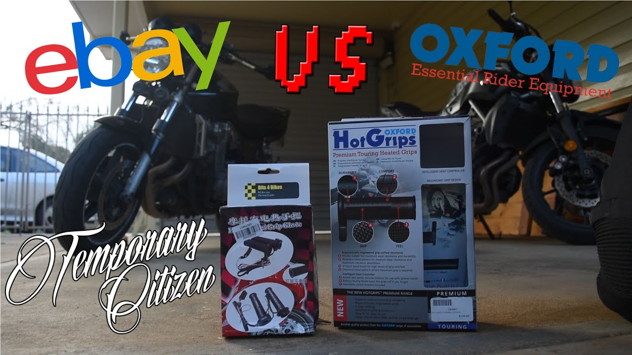 Heated motorcycle gloves vs heated grips - Heated Grips Review Ebay Vs Oxford
