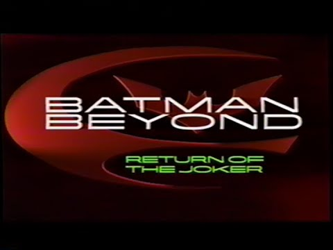 Batman Beyond - Return of the Joker (2000) Teaser (VHS Capture)