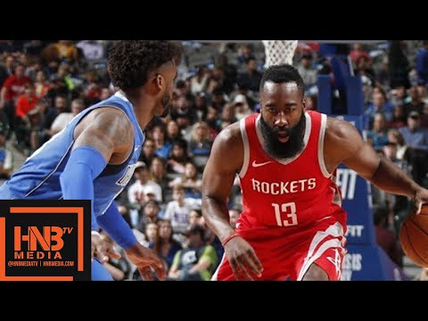 Houston Rockets vs Dallas Mavericks Full Game Highlights / Jan 24 / 2017-18 NBA Season