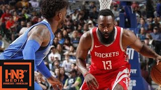 connectYoutube - Houston Rockets vs Dallas Mavericks Full Game Highlights / Jan 24 / 2017-18 NBA Season