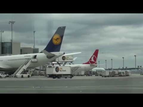 Frankfurt Airport Maxi Tour August 2016 Part 1