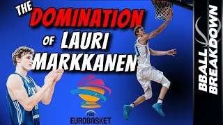 The DOMINATION of Lauri Markkanen In FIBA Eurobasket 2017