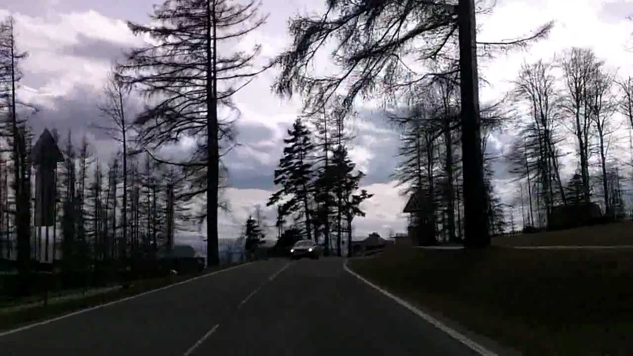 Slovakia: Road 537 westbound High Tatras - storm affected areas, destroyed forests