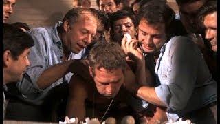 经典越狱片《铁窗喋血》:倔强男子反抗监狱权威,被犯人奉为英雄