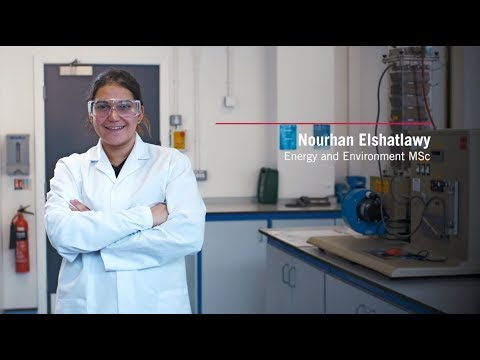 Nourhan's experience studying Energy and Environment MSc