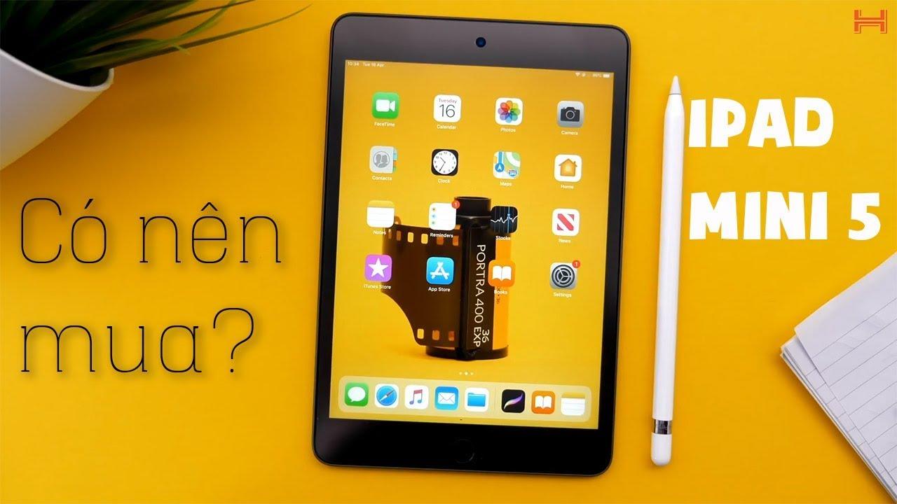 Những nâng cấp đáng giá của iPad Mini 5 2019